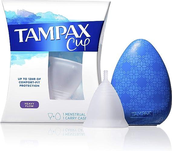 Tampax copa menstrual de flujo regular hasta 12 horas de ...