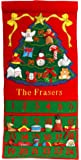 Personalized Fabric Christmas Advent Calendar By Pockets of Learning