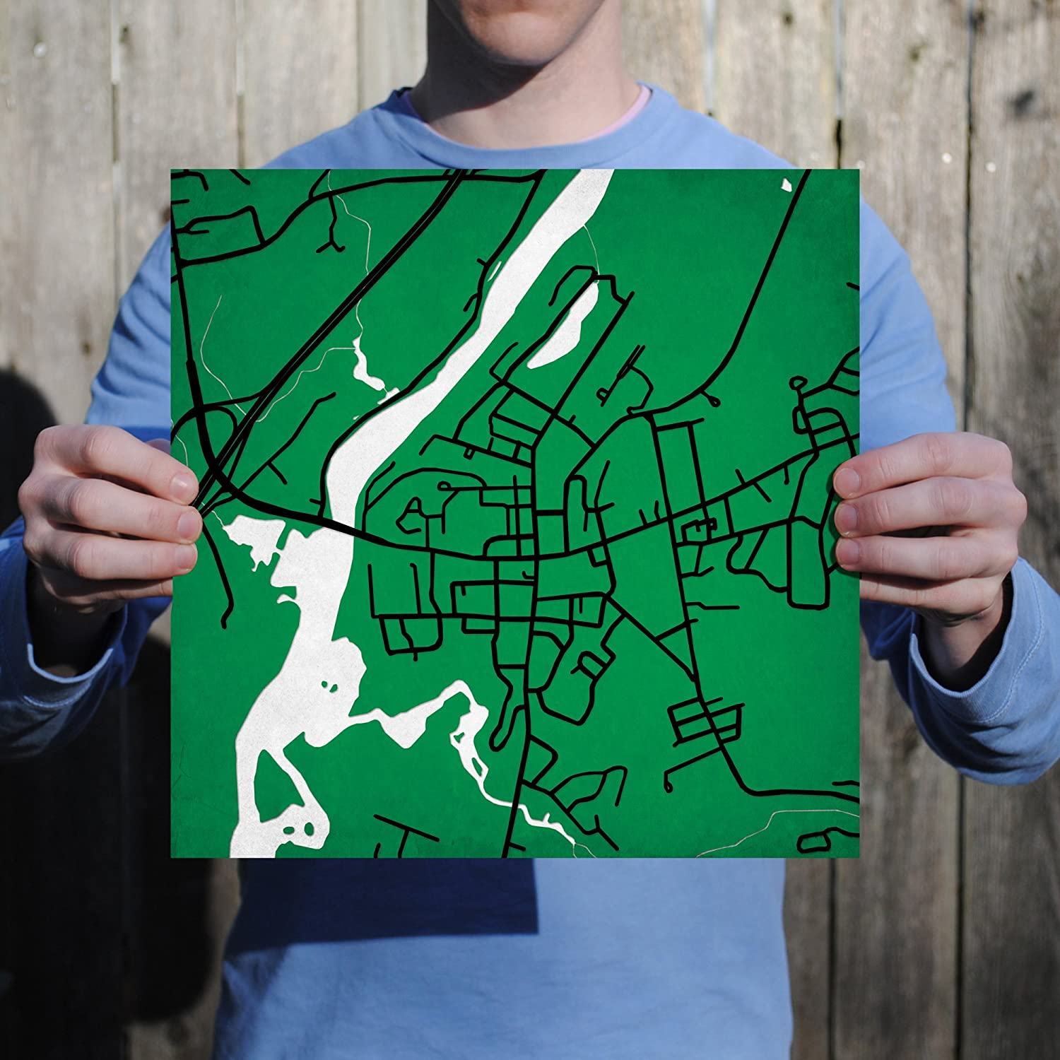 Amazon.com: Dartmouth College Campus Map Art, 24