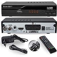 Strom 505 DVB-T2 Receiver - HEVC/H.265 - H.264 / MPEG2 - MPEG4 / 1080i - 1080p Standard (Full HD 1080P, HDMI, SCART, USB 2.0) - Automatische İnstallation