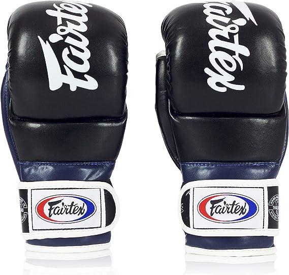 Fairtex MMA Handschuhe Gloves Freefight schwarz Grappling Vale Tudo FGV12