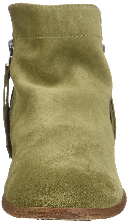 Sam Edelman Women's Packer Ankle Boot B07BRD3JLS 8 W US|Moss Green Suede