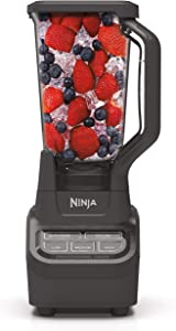 Ninja BL710WM Professional 72 Oz Countertop Blender with 1000-Watt Base and Total Crushing Technology for Smoothies, Ice and Frozen Fruit (Renewed)
