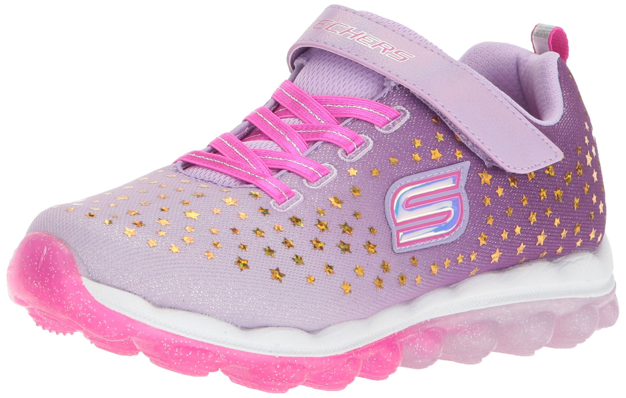f10704002e32 Galleon - Skechers Kids Girl s Litebeams-Dance N Glow Sneaker