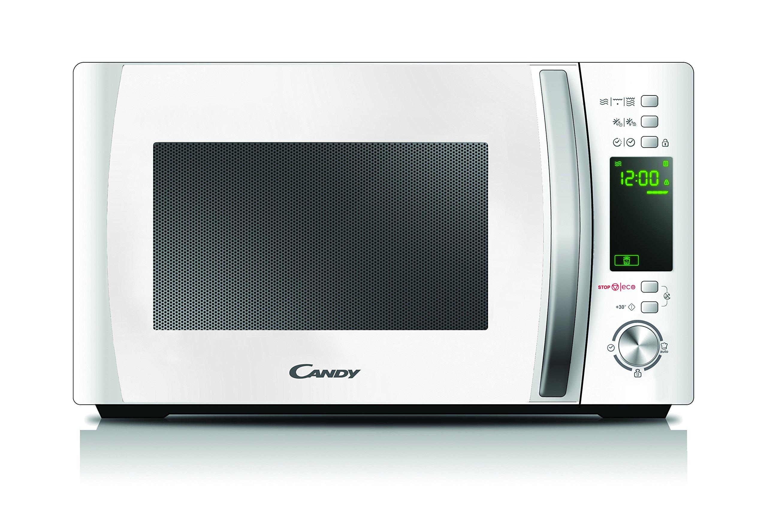 Candy CMXG20DW - Microondas con grill y cook in app, 20 L, 40 programas automáticos, 700 W / 1000 W, color blanco product image