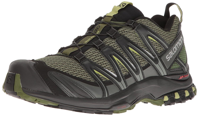 Salomon Men s XA PRO 3D Trail Runner, Chive, 13 M US