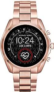 Micheal Kors Connected Smartwatch con tecnología Wear OS de Google, altavoz, frecuencia cardíaca, GPS, NFC y notificaciones smartwatch