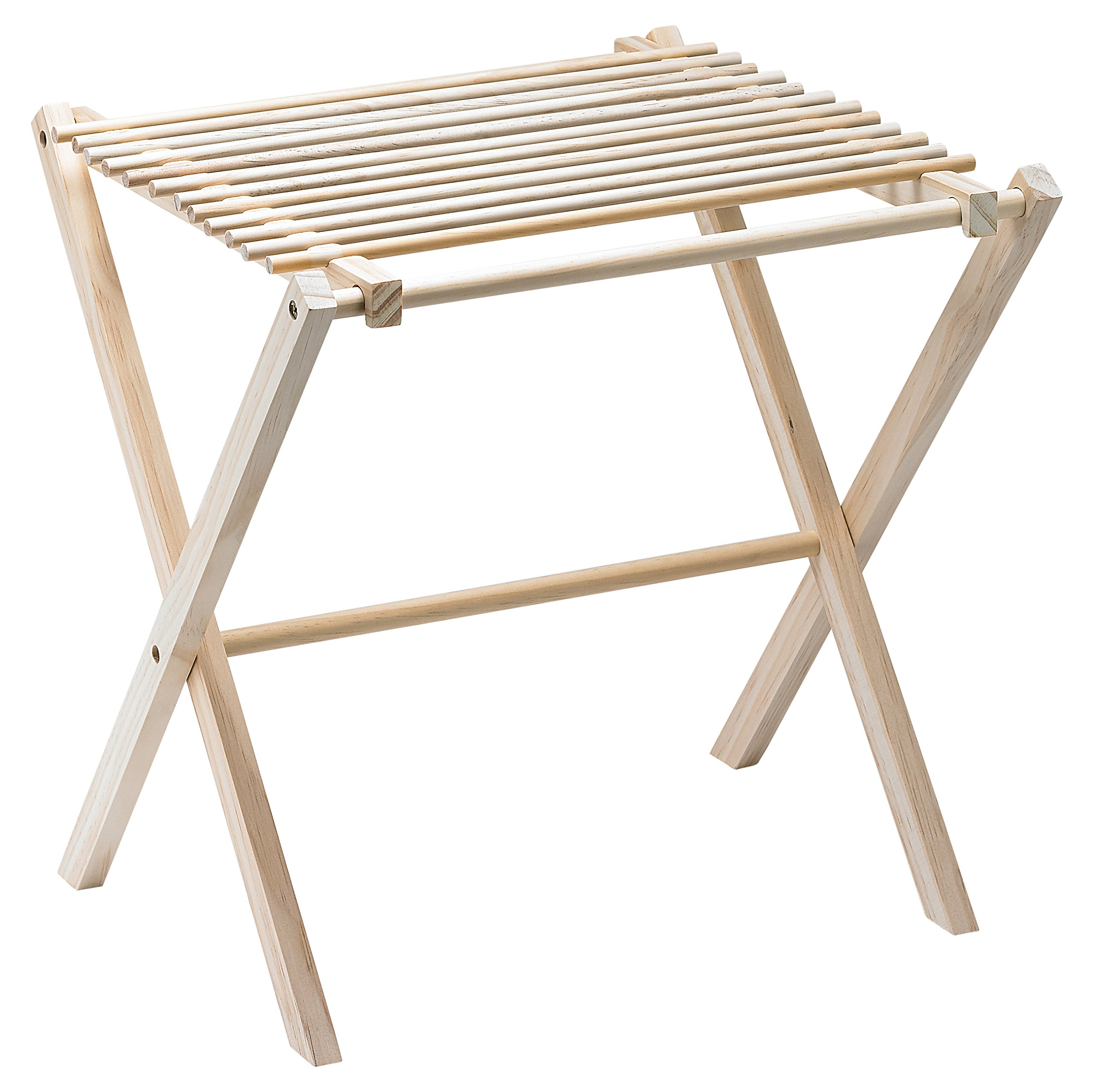 Fante's 43797 Collapsible Pasta and Noodle Drying Rack, Natural Wood, 14.5 x 16 x 15-Inches, The Italian Market Original Since 1906 by Fante's