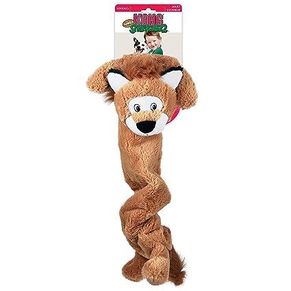 KONG Stretcheez Jumbo Lion Dog Toy, X-Large