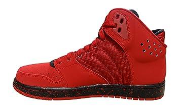 Mens Jordan 1 Flight 4 Sneakers Red/Red - 483258NUH