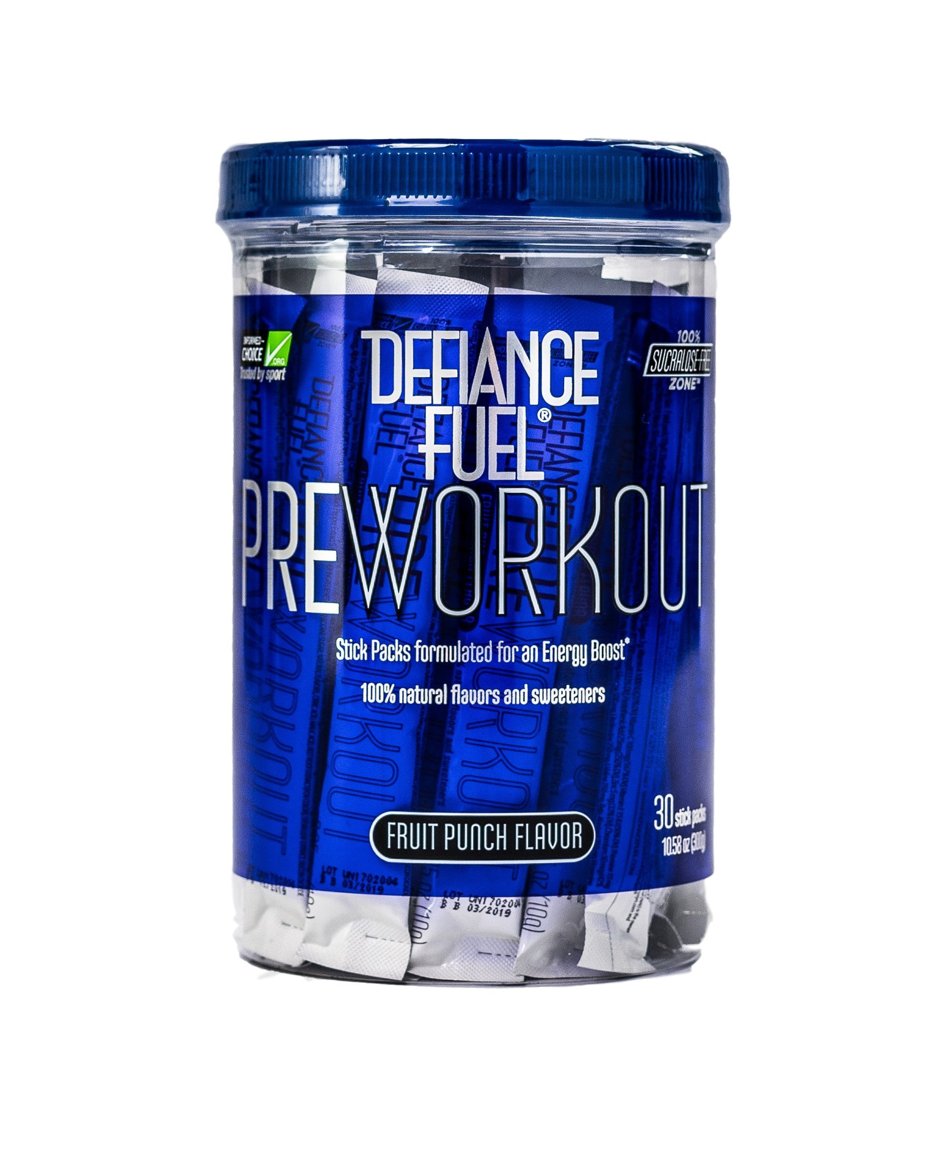 Defiance Fuel Pre Workout Powder Energy Drink w/ Beta Alanine, Taurine and Amino Acids by Defiance Fuel (Image #1)