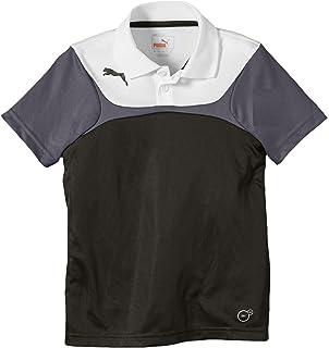 Puma Large Logo T Shirt WeißDresden Blau: