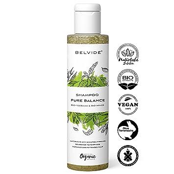 Belvide Natur Shampoo Für Normales Und Fettiges Haar Mit Bio