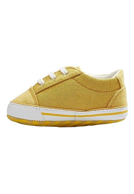 Next Bebé Niño Zapatos con Cordones para Carrito (Niño Pequeño) Ocre 12-18 Meses: Amazon.es: Zapatos y complementos
