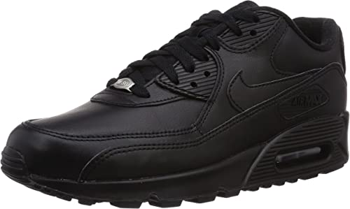 Nike Air Max 90 Leather Mens Trainers 302519 Sneakers Shoes