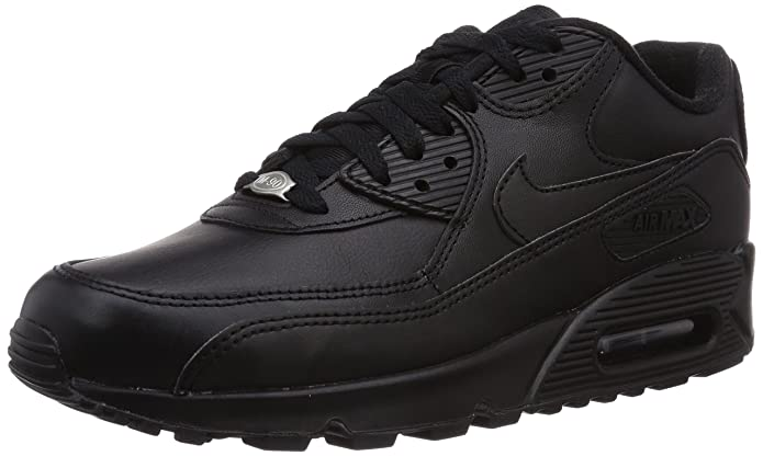 | Nike Men's Air Max 90 Leather Running Shoe