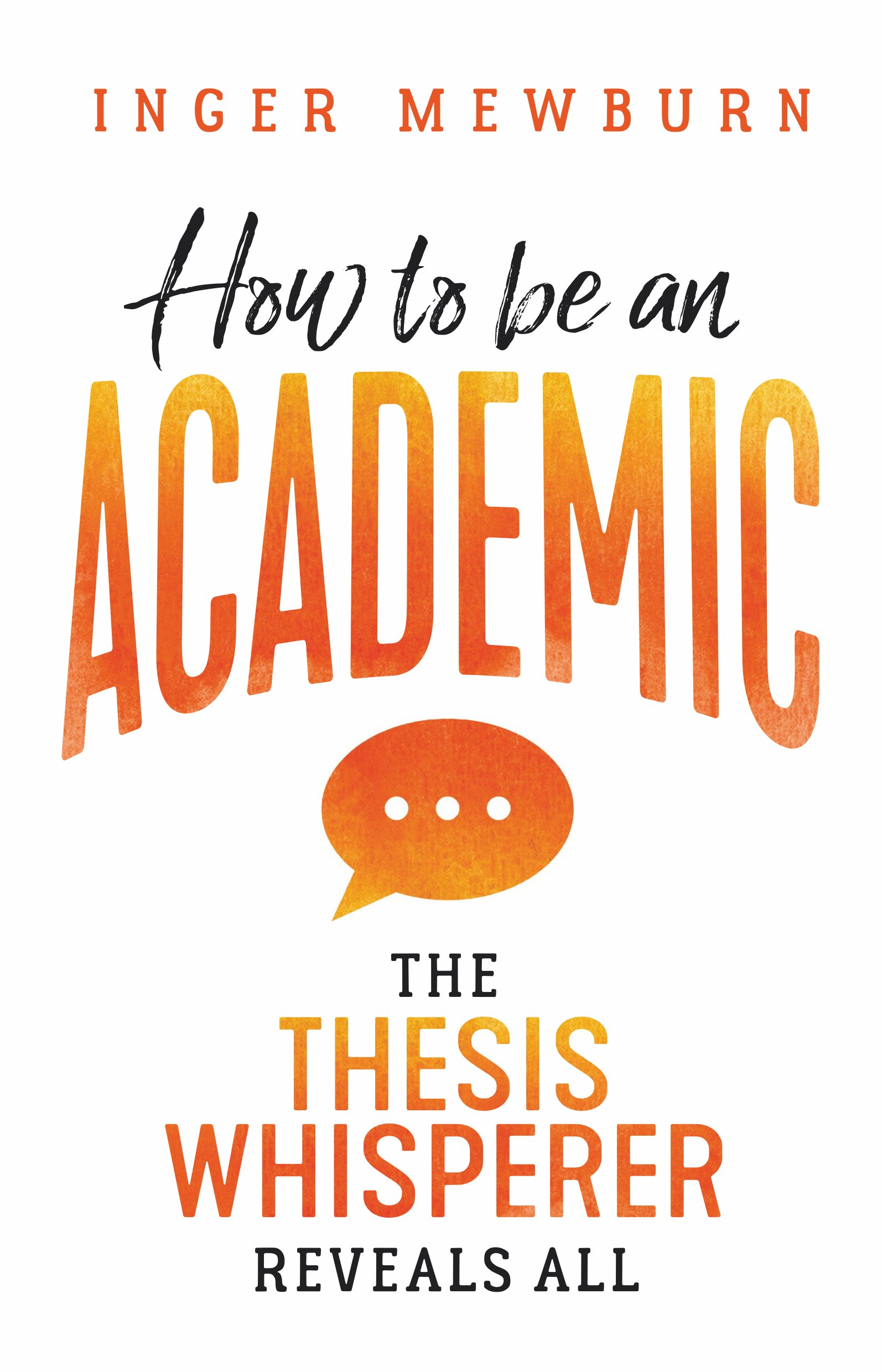 thesis whisperer literature review