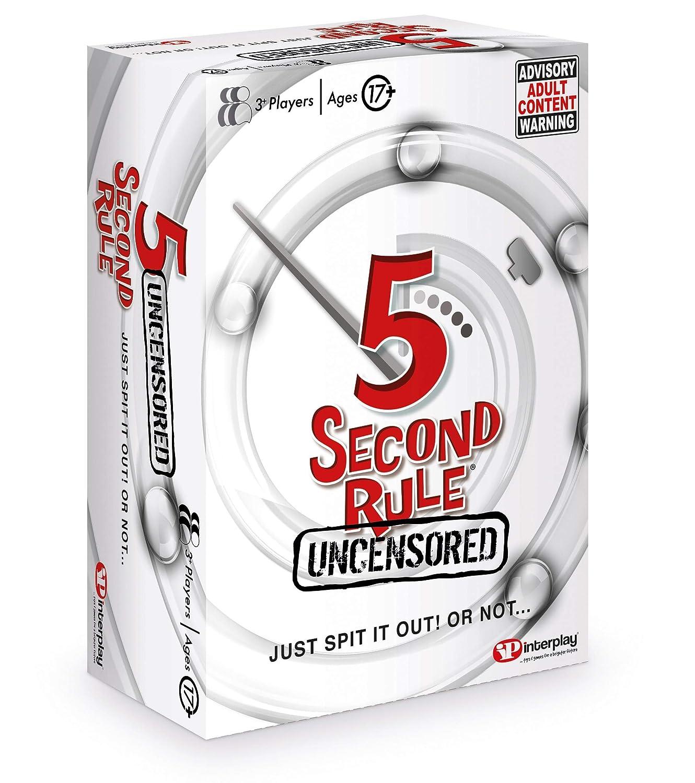 Juego de Cartas 5 Second Rule GF004, Multicolor: Amazon.es ...