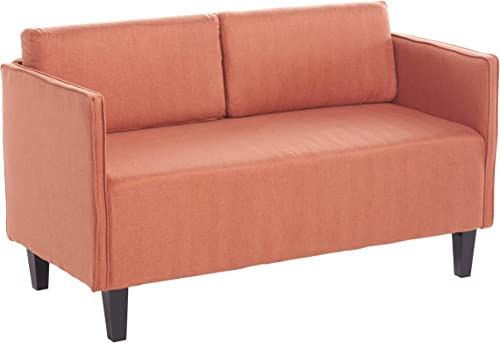 Christopher Knight Home Sullivan Fabric Loveseat, Orange