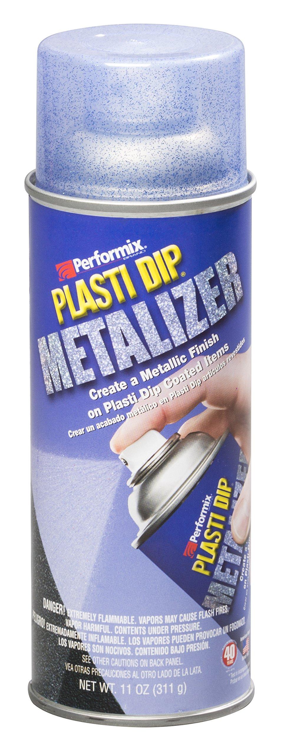 Plasti Dip Performix 11242 Blue Metalizer Top Coat, 11 oz (for