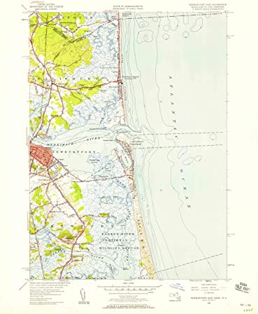Amazon.com: Machusetts Maps - 1952 Newburyport, MA USGS ... on plum island map, westfield ma map, plum island, newbury ma map, millers falls ma map, essex county, nashua ma map, george whitefield, cohasset ma map, kittery ma map, plymouth ma map, manchester by the sea ma map, east orleans ma map, boston harbor ma map, camp edwards ma map, pawtucket ma map, duxbury ma map, taunton ma map, rhode island ma map, north leominster ma map, greenwich ma map, the berkshires ma map, salem ma map, merrimack river,
