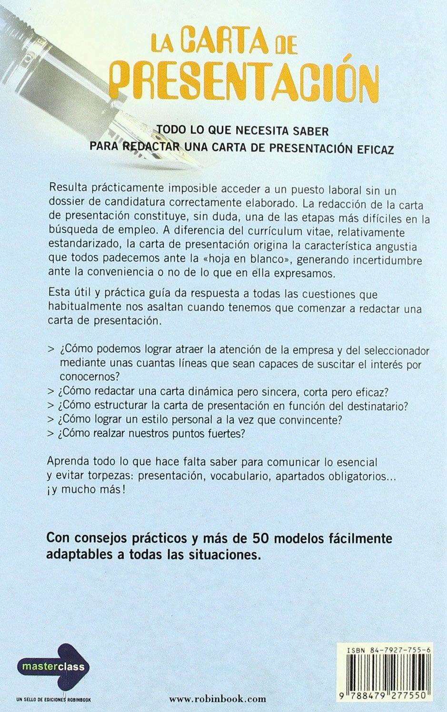 Carta de presentacion, la: Amazon.es: Florence Le Bras: Libros