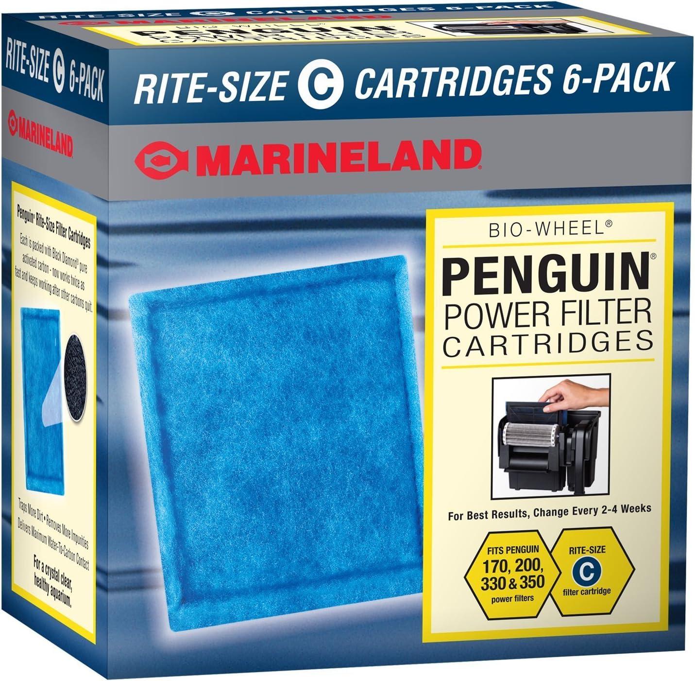 Marineland Rite-Size Cartridge Refills C,12 pack
