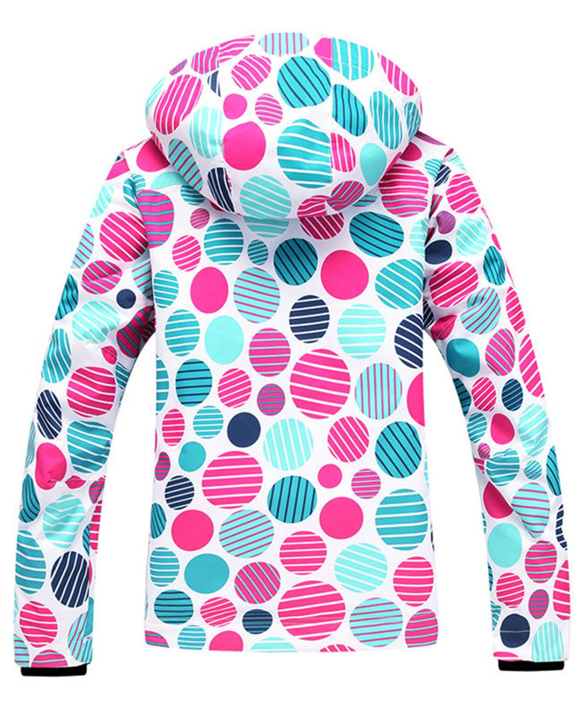APTRO Women's High Windproof Technology Colorfull Printed Ski Jacket Style #37 Size S by APTRO (Image #2)