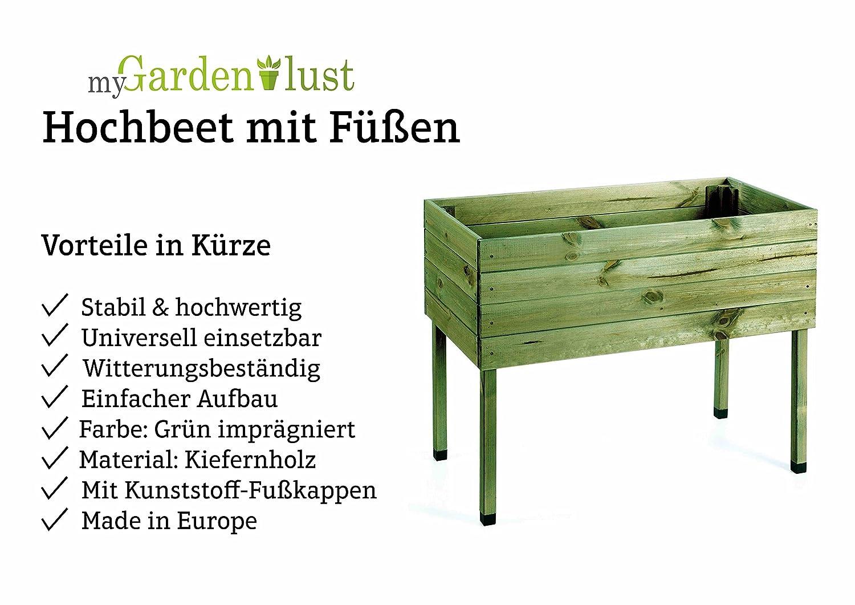 Mygardenlust Hochbeet Bausatz Aus Holz Krauterbeet Impragniert Fur