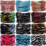 Amazon Price History for:VANCROWN Headband Head Wrap Headwear Sport Sweatband 280 Patterns 12 in 1 Magic Scarf 12PCS 9PCS & 6PCS By