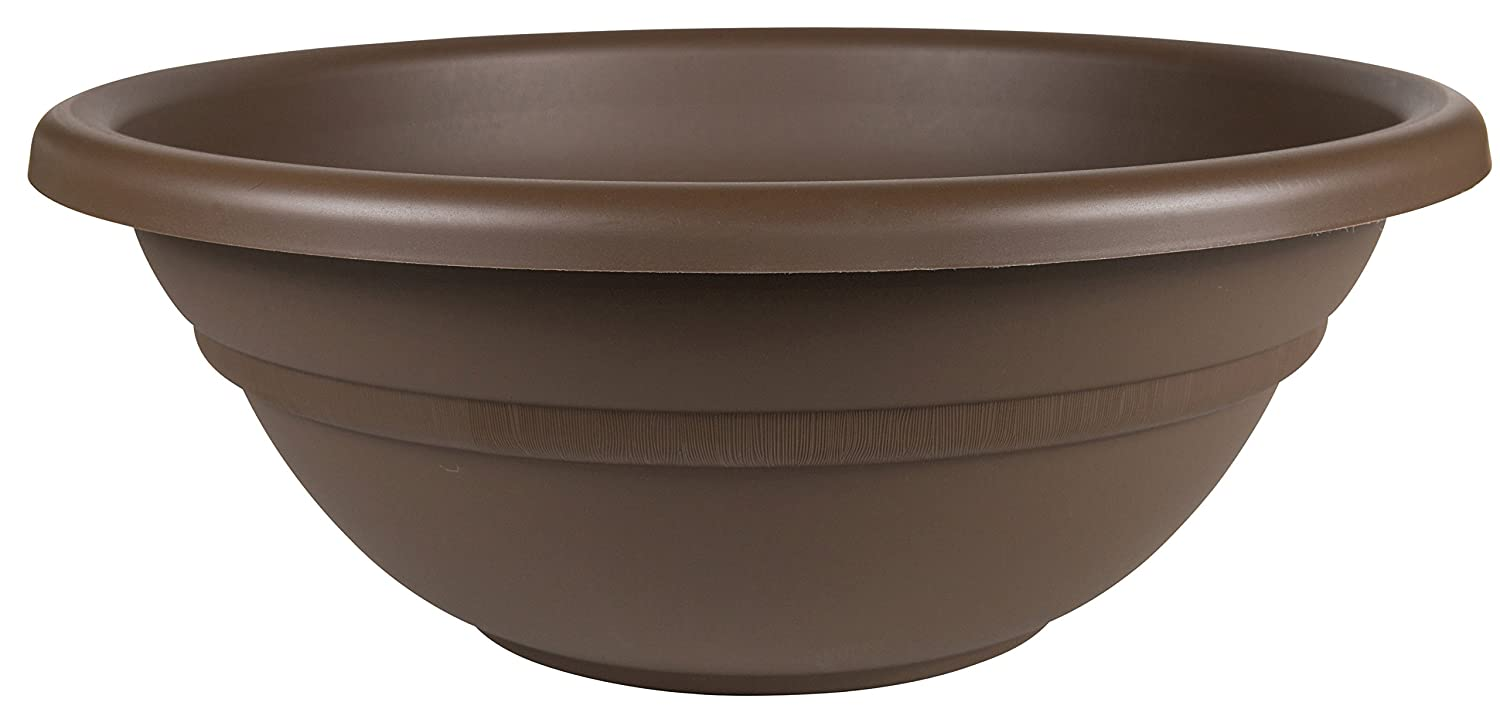 Bloem Milano Plant Bowl, 20 , Chocolate MB1820-45