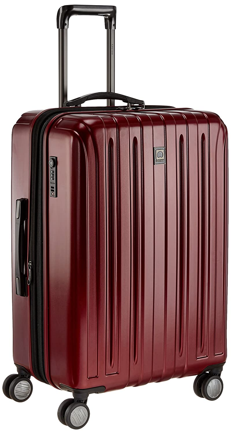 Delsey Vavin Hard 70Cm Red Check-In Trolley Luggage (00207382004)