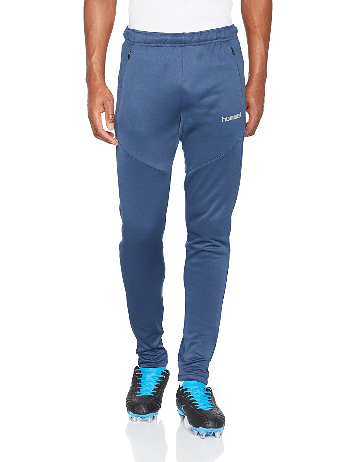 TALLA L. hummel Tech Move Football Pants, Hombre