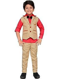 c6ddd7205 AJ DEZINES Boy's Cotton Party Wear Clothing Set: Amazon.in: Clothing ...