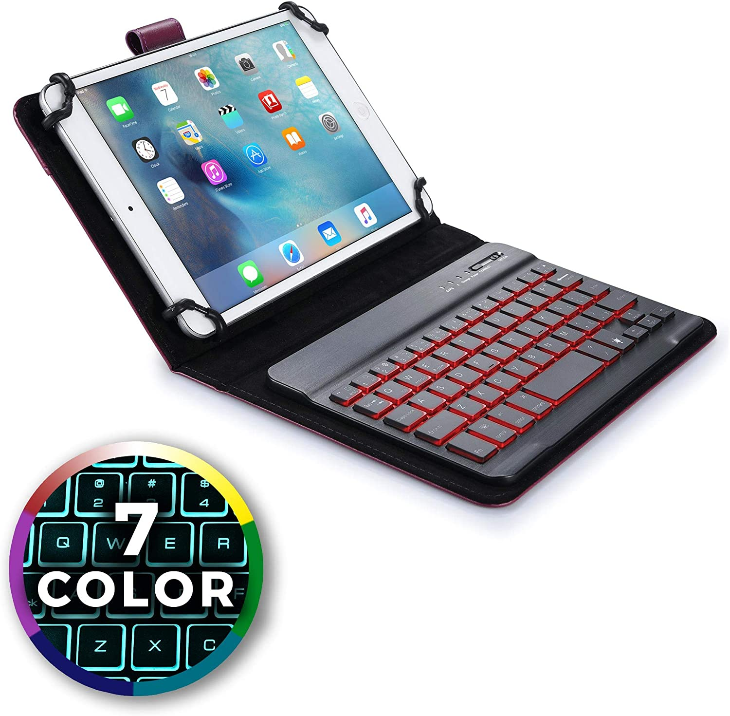 """for Insignia Flex 7/"""" 7.85/"""" 10.1/"""" Tablet Multi View Stand Holder 9.7/"""" 8/"""""""