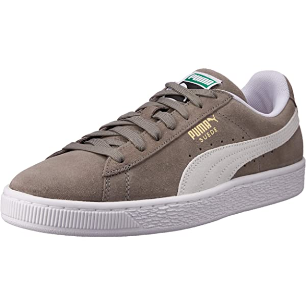quality design 583b6 99728 PUMA Adult's SUEDE CLASSIC+ Trainers, Grey (Steeple Gray ...