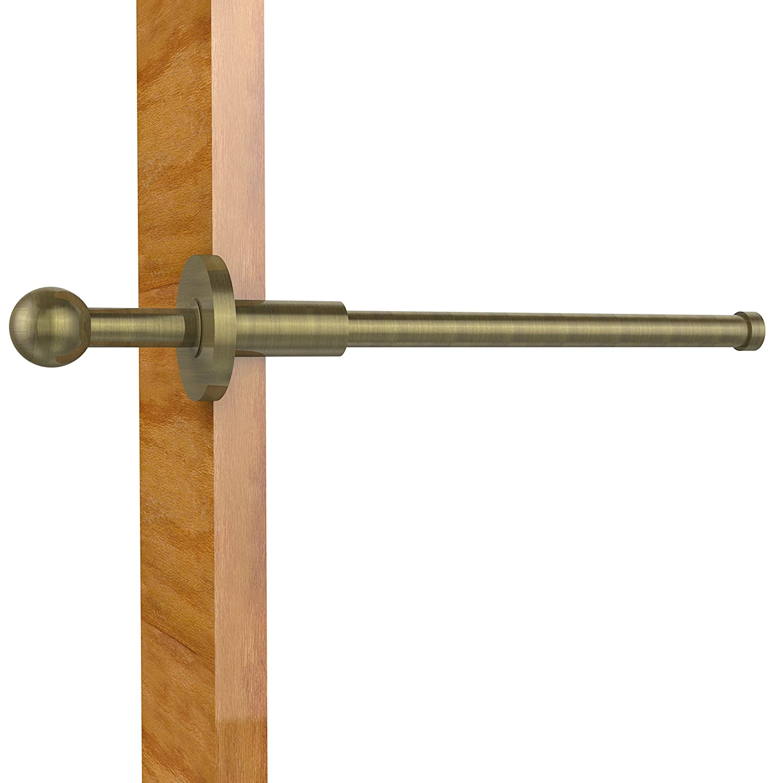 Allied真鍮td-23 Pullout Garmentロッド 10インチ ブラウン 013895229395 B00YH3EE30 アンティーク真鍮 アンティーク真鍮