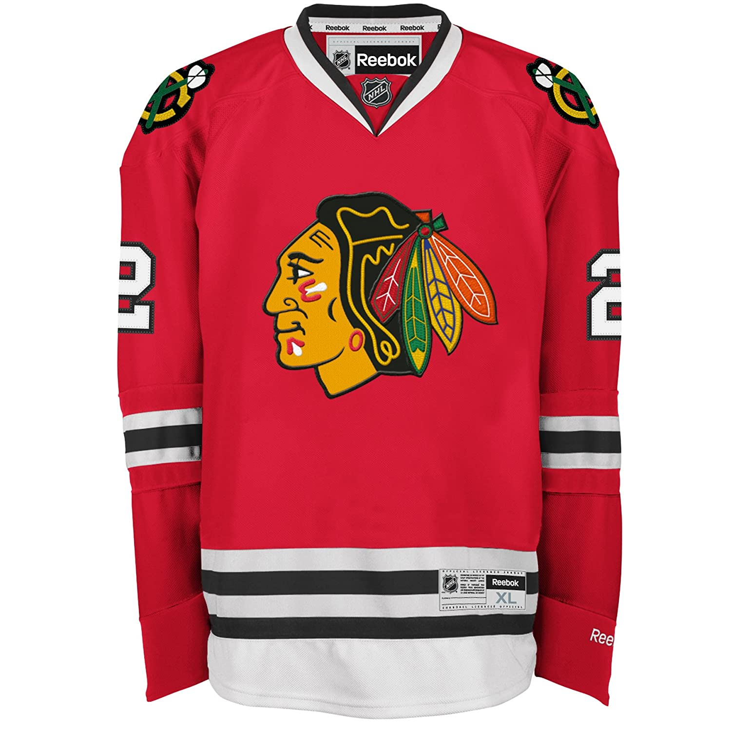 Amazon.com   Duncan Keith Jersey  Reebok Red  2 Chicago Blackhawks Premier  Jersey   Sports   Outdoors 2614947a1