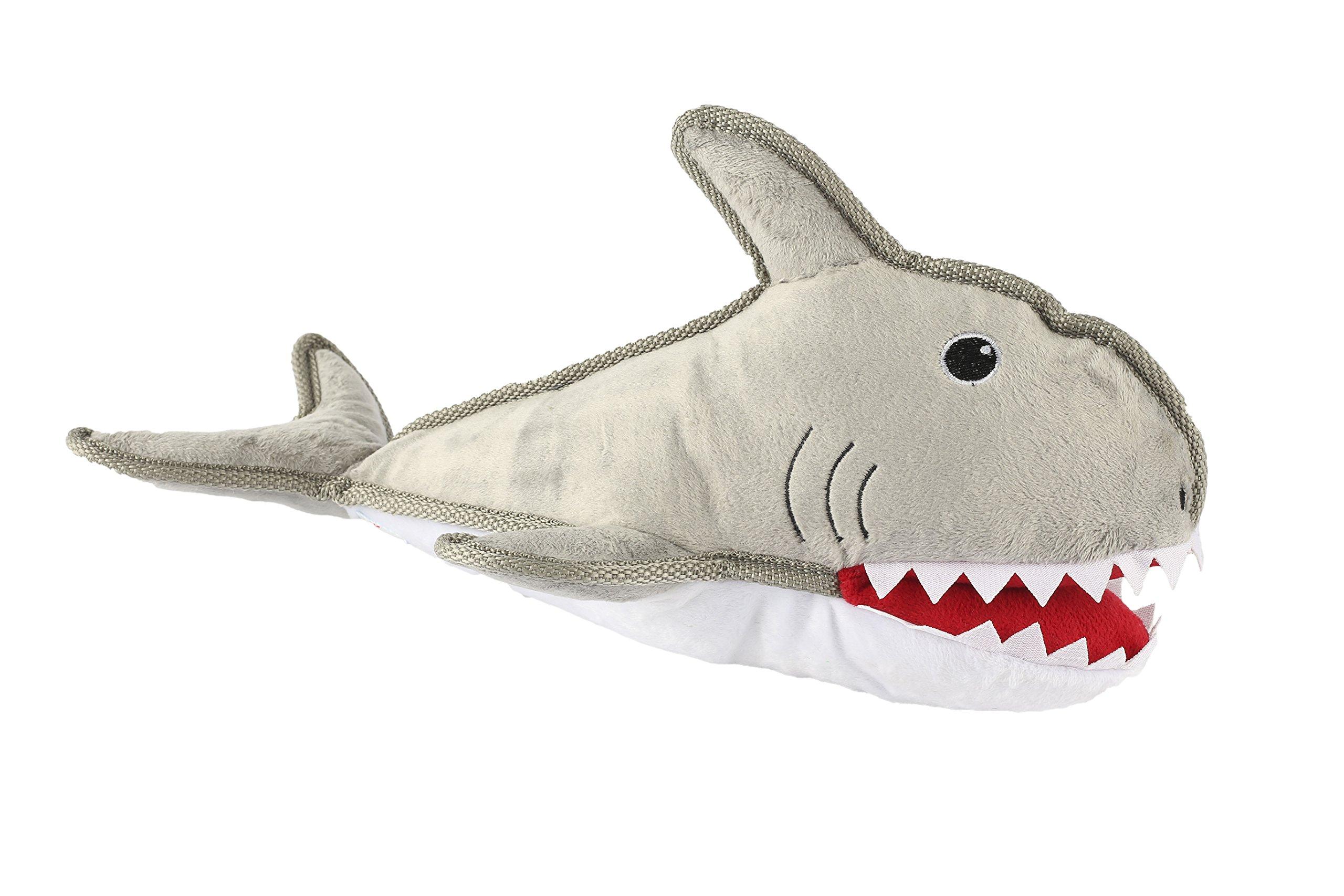 Mako the Shark - Near Indestructible Dog Toys - Squeaky Dog Toys Tough Dog T...