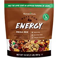 Nature's Eats Nuts for Energy Mega Trail Mix -- 16 oz