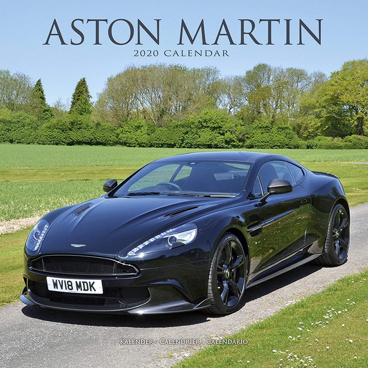 Calendrier Fun Car 2020.Aston Martin Calendar Calendars 2019 2020 Wall Calendars