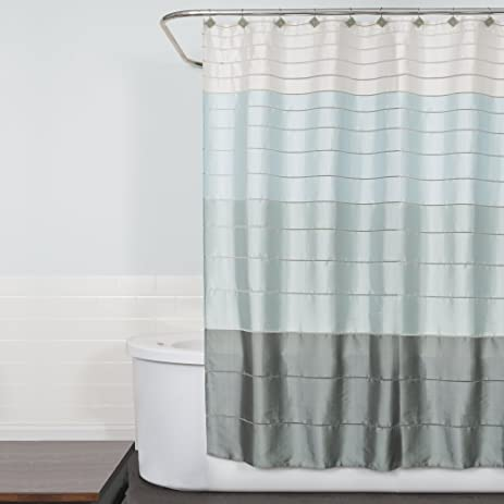 Saturday Knight Modena Stripe Shower Curtain, Pastels