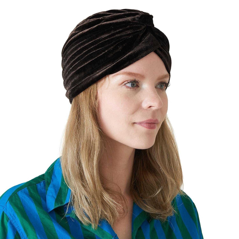 CHARM Casualbox   Velvet Twist Turban Hat Womens Fashion Headwrap Festival Boho 4589777966826