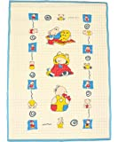 Baby Bucket Water Proof Mat/Sheet/Godri (Quilted Pads 60 X 45 CM Colour:May Very)