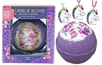 Amazon.com: BUBBLE Bomba de baño con collar sorpresa en el ...