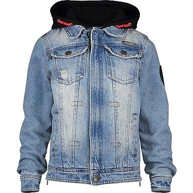 2a6dd800f6 Vingino Jungen Boys Jeansjacke Jacke FRANK Light Vintage: Amazon.de ...