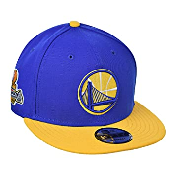 Golden State Warriors 2017 NBA Finals Champions lado parche 2Tone Gorra 9  FIFTY New Era gorro eb36182e1a4