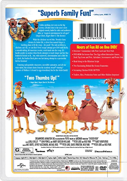 amazon com chicken run phil daniels lynn ferguson mel gibson rh amazon com