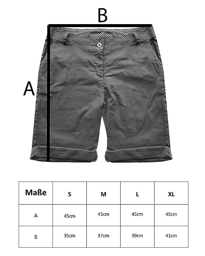 Kendindza Collection - Pantalón Corto - Chino - para Mujer  Amazon.es  Ropa  y accesorios 6f07f565fbd8