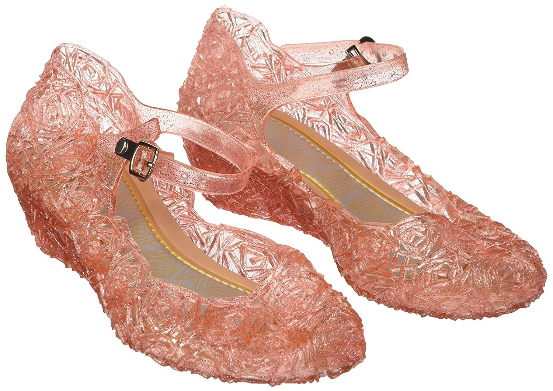 Katara ES10 Scarpe Tacco Principessa Elsa Cenerentola Bambine Costumi  Carnevale Halloween EU 26 (16 3d3e806141b